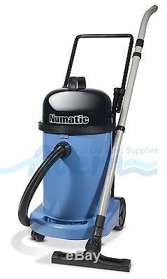 110V WV470 BLUE Wet & Dry Vacuum Cleaner Commercial Numatic 110V Site Vacuum