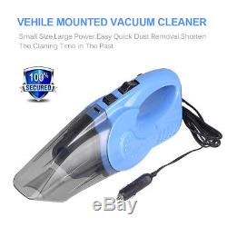12V 120W Corded Hand Held Portable Bagless Vacuum Cleaner Wet & Dry Car Home
