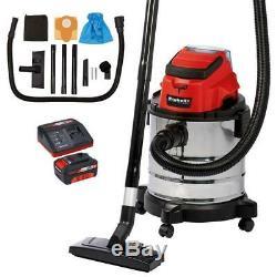 18V 3Ah Li-Ion Cordless Wet & Dry Vacuum Cleaner EINHELL