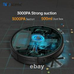3000Pa Alexa Robotic Vacuum Cleaner Carpet Floor 3in1 Dry Wet Mopping Auto Robot
