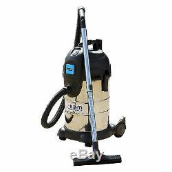 30 Litre 1400 Watt Wet & Dry Vacuum Cleaner with 2000 Watt Power Take Off socket