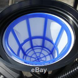 3600W 80L Industrial Vacuum Cleaner Wet/Dry Vac Bagless Powerful Stainless Steel
