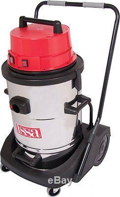 3600w Wet & Dry Triple Motor Industrial Vacuum Cleaner Gutter Vacuum Car Wash
