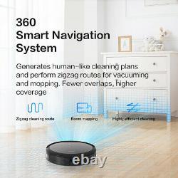 360 C50 Alexa Robotic Vacuum Cleaner Dry Wet Mopping APP Control Map Navigation