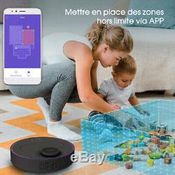 360 S6 Robotic Vacuum Cleaner Automatic APP LDS Remote Dry Wet Cleaning 1800P