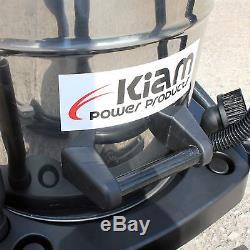 60 Litre Industrial 2400 Watt Wet & Dry Vacuum Cleaner KIam TWO MOTOR VAC