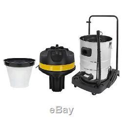 80L 3000W Industriestaubsauger Nass Trocken Edelstahl wet & dry Vacuum Cleaner