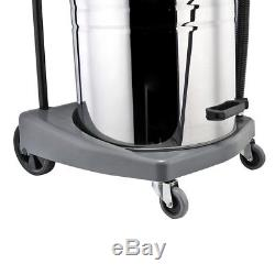 80L Wet & Dry Vacuum Cleaner Stainless Steel Industrial Commercial 3 Power Level
