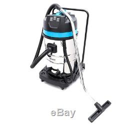 80 Litre 3000W Carwash Black Wet And Dry Vacuum Cleaner Industrial
