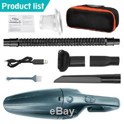 9000pa Cordless Wet & Dry Car Vacuum Cleaner Powerful Handheld Rechargeable Home