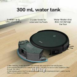 Alexa Robotic Vacuum Cleaner Mop Robot Sweeper Home Cleaning Wet & Dry 2-in-1