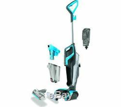 BISSELL CrossWave Upright Wet & Dry Vacuum Cleaner Titanium & Blue DAMAGED BOX
