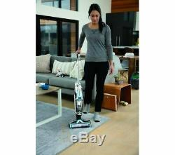 BISSELL Crosswave 2582E Cordless Wet & Dry Vacuum Cleaner Silver Currys