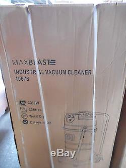 BNIB MAXBLAST Industrial Wet & Dry Vacuum Cleaner 3000W 80L