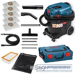 BOSCH Allzweck- Wet And Dry Vacuum Cleaner GAS 35 L SFC 06019C3000 + L-Boxx+Bag