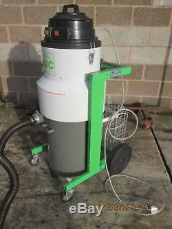BVC TS60 3 kW 3 MOTORS INDUSTRIAL VACUUM CLEANER WET + DRY 230 or 110V