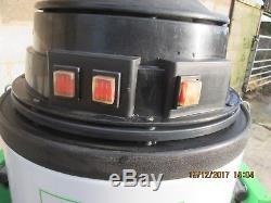 BVC TS60 3 kW 3 MOTORS INDUSTRIAL VACUUM CLEANER WET + DRY 230 or 110V