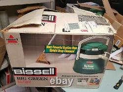 Bissell Big Green Multi Purpose Wet Dry Carpet Cleaner with Accessories 1672 & Box