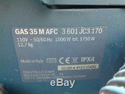 Bosch Gas 35 M Afc 110v Wet & Dry Vacuum Cleaner / Dust Extractor