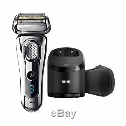 Braun men's shaver Series 9 Wet or Dry 9295CC With Cleaner New Brand