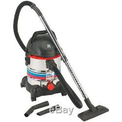 Clarke Pro Vac King Wet/dry Vacuum Cleaner Cvac20ss