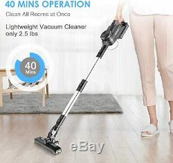 Cordless Vacuum Cleaner Handheld Vacuum For Wet and Dry use Rechargeable 8.5kPa