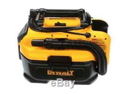 DEWALT 2-gal. Portable Max Cordless/Corded Wet/Dry Vacuum Cleaner and Blower New