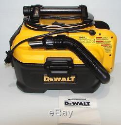 DEWALT DCV581H 18 20 Volt MAX Cordless Corded Wet-Dry Vacuum Cleaner