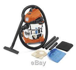 DJM Wet and Dry Vacuum Vac Cleaner Industrial 20ltr 1250w 230v Stainless Steel