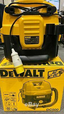 DeWALT DC500-LX Wet & Dry Vacuum Cleaner / Hoover 110V SITE USE ONLY