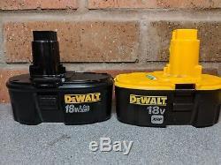 DeWALT DC515N 18V Wet & Dry Vacuum Cleaner + DW056N Impact + DC725 Combi Drill