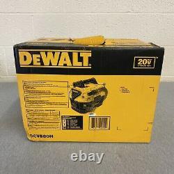DeWalt DCV580H 20V Cordless Wet and Dry Vacuum Cleaner