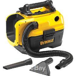 DeWalt DCV582 18v / 240v XR Wet & Dry Vacuum Cleaner No Battery or Charger