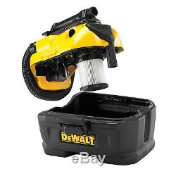 DeWalt DCV582 18v XR Cordless Wet & Dry Vacuum Cleaner No Batteries