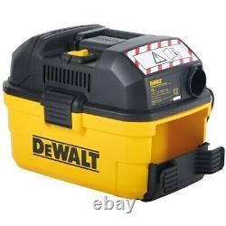 DeWalt DXV15T 08001 Portable Wet & Dry Vac Vacuum Cleaner & Blower 1100W 15L