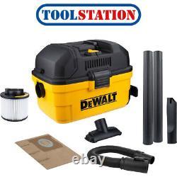 DeWalt DXV15T Toolbox 15L Wet & Dry Vacuum Cleaner 230V