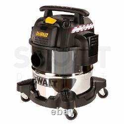 DeWalt DXV20S Professional Wet & Dry 20L Vacuum Cleaner 240v