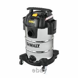 Dewalt DXV30SA Stainless Steel Wet & Dry Vacuum Cleaner 1050W 240V 30L Chrome