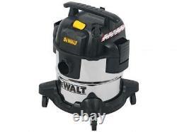 Dewalt Dxv20s Wet And Dry Vacuum Cleaner Trade Use Garage Home Diy 240v New