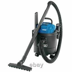 Draper 15 ltr 1250W 230V Wet & Dry Vacuum Cleaner Car Valeting Home Hoover 90107