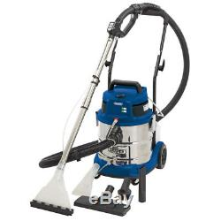 Draper 20L 1500W 230V Wet and Dry Shampoo/Vacuum Cleaner Car Valeting Machine