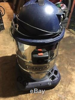 Draper 2200w 50L Wet & Dry Vac Vacuum cleaner