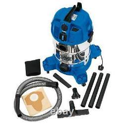 Draper 30L 1600W Wet And Dry Vacum Cleaner 230V Power Socket 20529