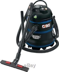 Draper 38015 Expert 35L 1200W 230V M-Class Wet And Dry Vacuum Cleaner