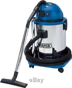 Draper 48499 1400W 50L 230V Wet & Dry Workshop Hoover Vacuum Cleaner
