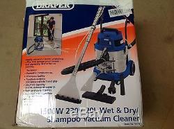 Draper 75442 Wet And Dry Shampoo Carpet Cleaner Car Veleting
