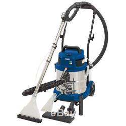 Draper 75442 Wet Dry Shampoo Vacuum 20L Litre 1500w Car Carpet Valeting Cleaner