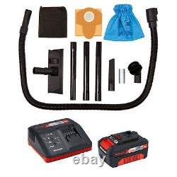 EINHELL TC-VC 18/20 Li S-Kit, Cordless Wet and Dry Vacuum Cleaner 20L