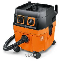 FEIN 1000 Watt 5.8-Gallon Vacuum Cleaner with Suction Hose, Filter & Filter Bag