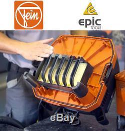 FEIN Dustex 25L 110v/240v Wet/Dry Hoover Vacuum Dust Cleaner, Or Bags, Filter, Kits
